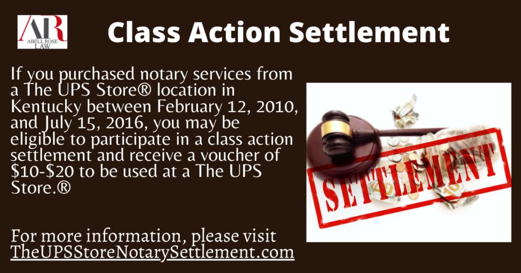 Notary Settlement